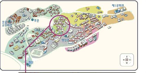 사범대학 13동 227호 지도